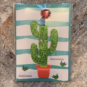 Bundle up❗️3D Cactus Birthday Card